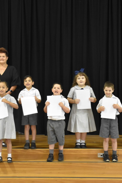Kindergarten to Year 6 EOY Awards